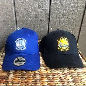 Golden State Warriors New Era & Adidas Hats NEW